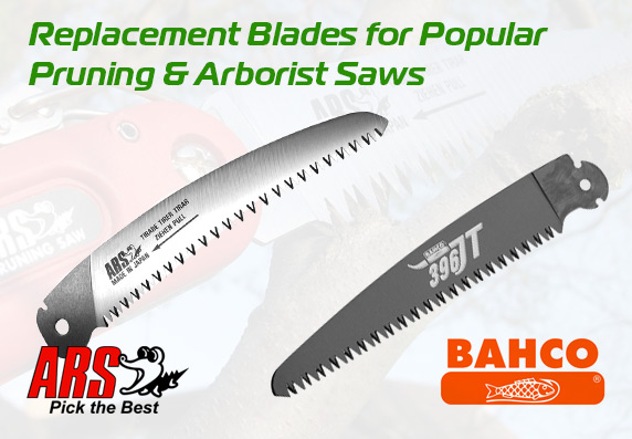 Replacement Blades for ARS and BAHCO Pruning Saws & Secateurs