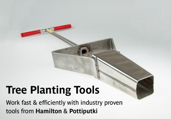 Hamilton & Pottiputki Tree Planting Tools