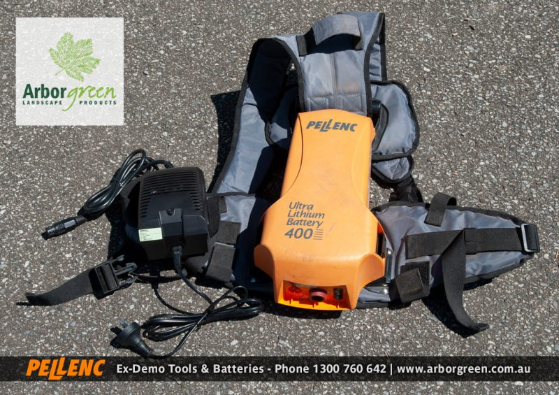 PELLENC ULB 400 Battery with Harness & Charger