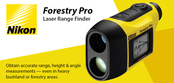 Nikon Forestry Pro Laser Range Finder - Accurate range height & angle measurments