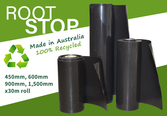 RootSTOP Tree Root Barrier - Australian Made - 100% Recycled