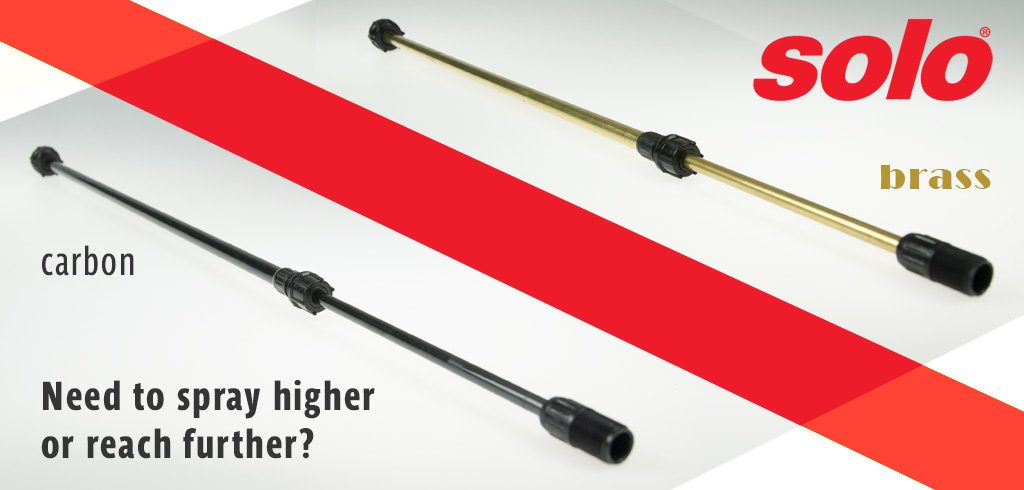 SOLO Telescopic Wands - Available in Brass or Carbon Fibre