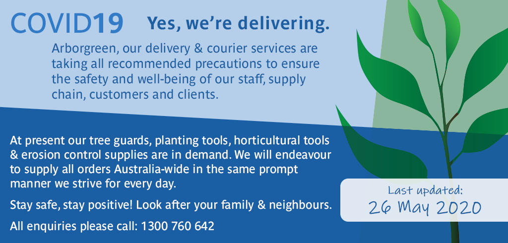COVID19 - 26 May 2020 update - Yes we're delivering - 1300 760 642