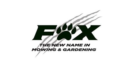 Fox Mowing Logo