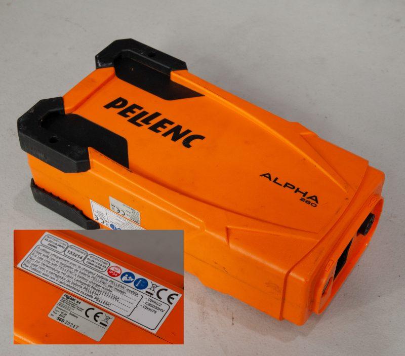 Pellenc Alpha 260 Battery - 56S20247