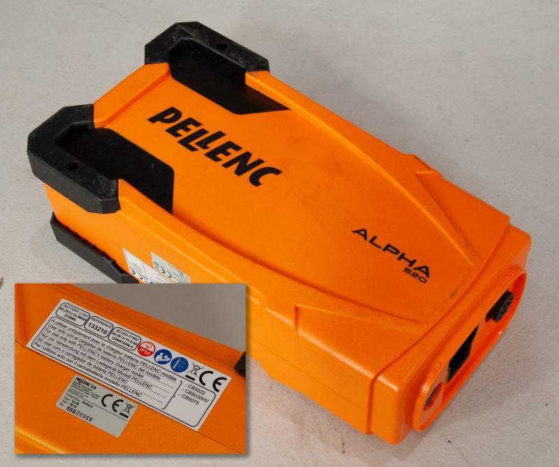 Pellenc Alpha 520 Battery - 56S20968