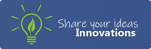 Innovations - Share Your Product Ideas for 10% off your next webstore order
